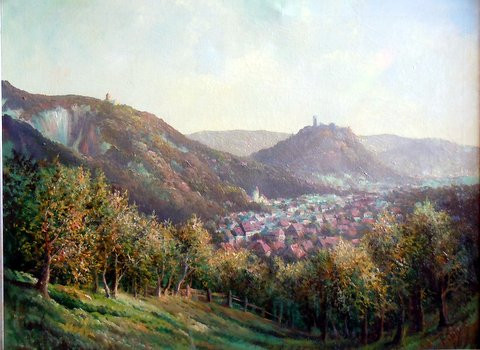 Landschaftsgemälde_2 - (Freizeit, Sprache, Kunst und Kultur)