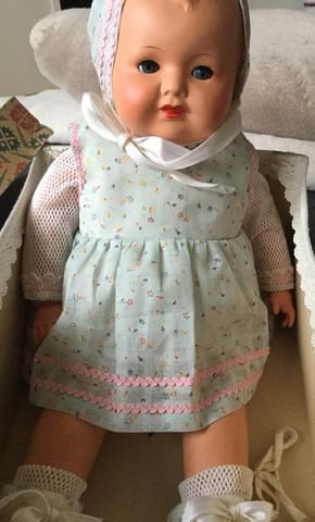 Puppe 2 - (Puppen, Sonneberg, DDR Puppe)