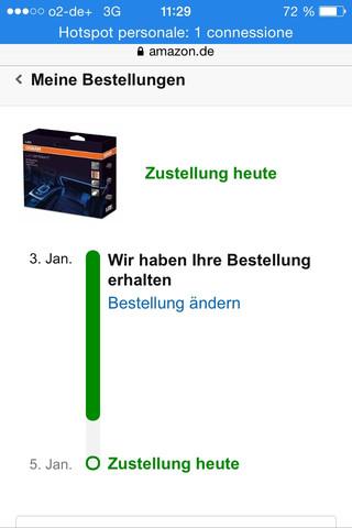 So sieht aus - (Amazon, Zustellung)