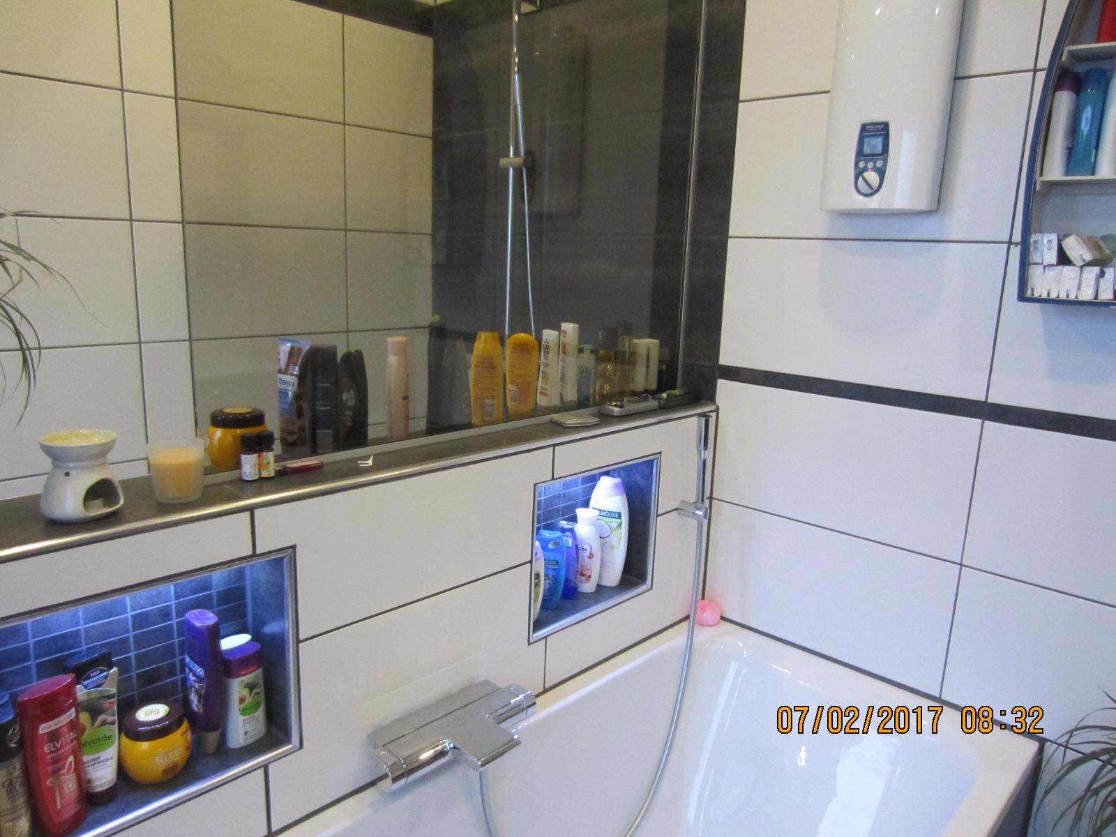 Hallo wanne und waschtisch haben durchweg hei es wasser die dusche wird nach ca 3 min kalt - Thermostatarmatur dusche ...