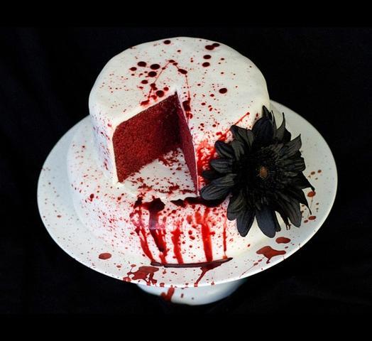 halloweentorte rezept backen halloween torte. Black Bedroom Furniture Sets. Home Design Ideas
