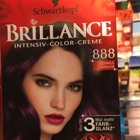 Hier die Tönung - (Haare, Tönung, Färbung)