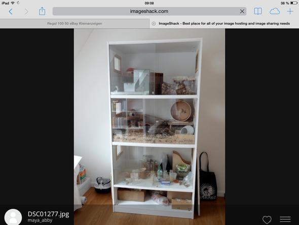 hamsterk fig aus schrank bauen hamster k fig. Black Bedroom Furniture Sets. Home Design Ideas