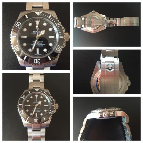 Rolex Submariner - (Uhr, original, Rolex)