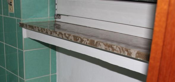 Fensterbank - (Asbest, Fensterbank)