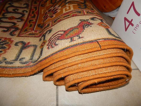 handgeknüpfter Teppich aus Indien gefunden?! (Handarbeit