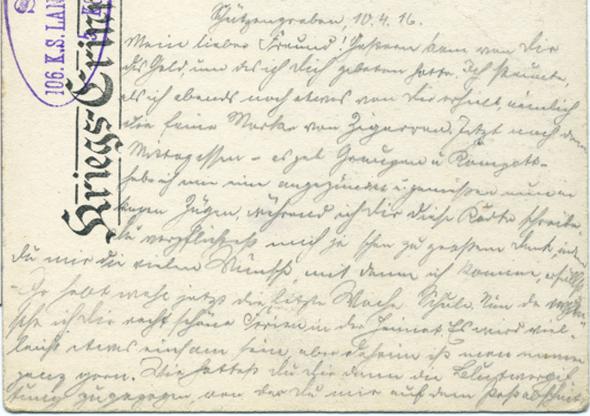 Seite 1 - (Handschrift, Sütterlin)