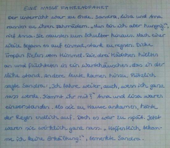 Ist Meine Handschrift Ordentlich Genug Für Die Oberstufe Schule