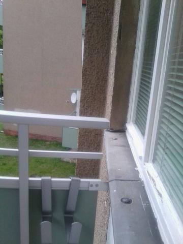 keine Wand für Festmachen - (Ratgeber, Handwerker, Balkon)