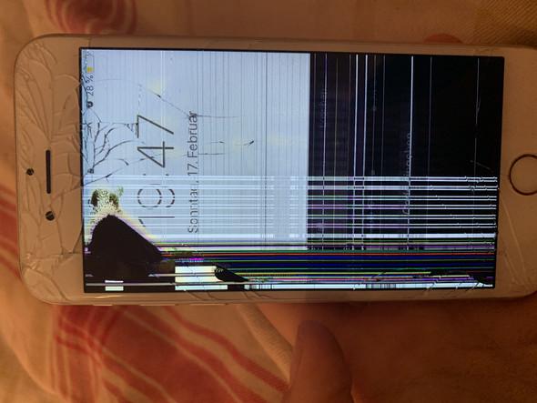 iphone 6s zeigt streifen und geht nicht mehr an