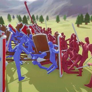 totally accurate battle simulator   - (iPhone, Handyspiele, Armee)