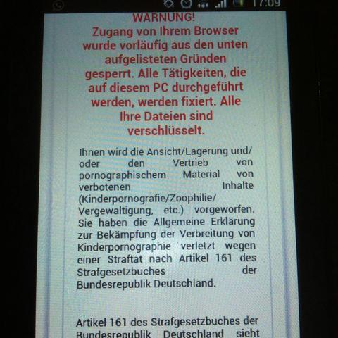 Da dteht die warnung - (Handy, Hack, Sony xperia)