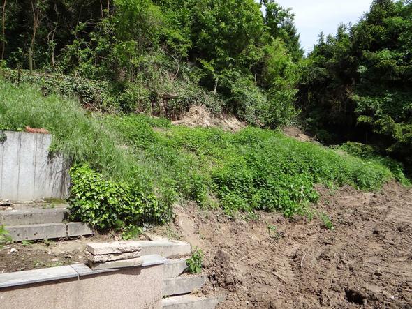 Hang Befestigen Mauer Gabionen Bitte Um Rat Bau Sicherung