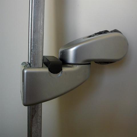 Schieber mit Brausehalter (defekt) - (Reparatur, Bad, Dusche)