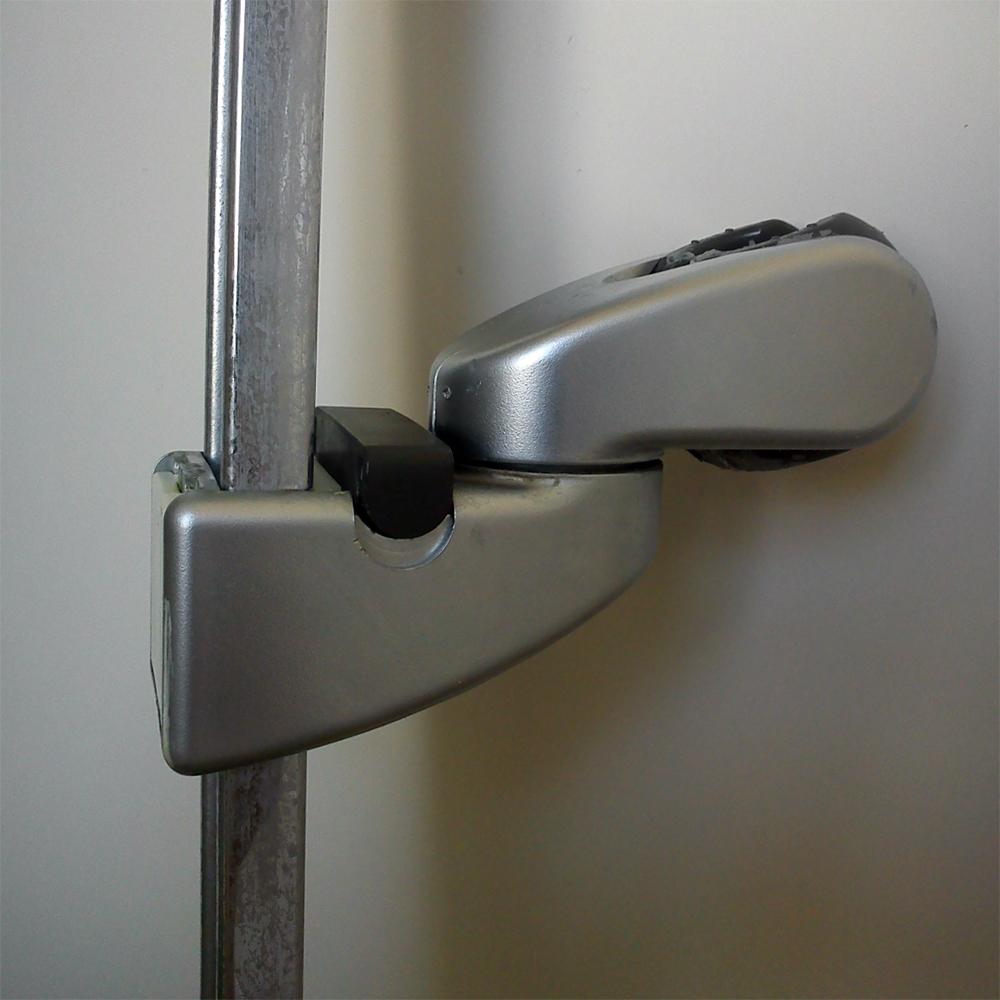 Dusche Brausehalter : hansgrohe Brausestange Unica zerlegen? (Reparatur, Bad, Dusche)