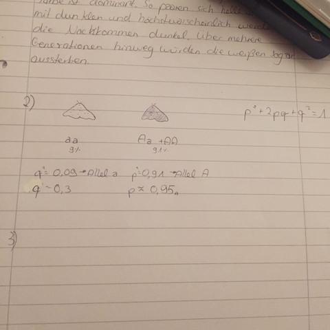 Nummer 2 - (Mathe, Biologie, rechnen)