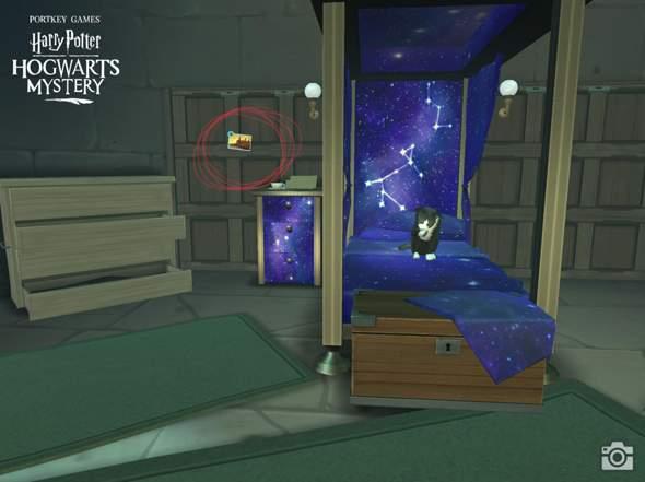 Harry Potter Hogwarts Mystery Was Ist Das Fur Ein Foto In Meinem Schlafsaal Spiele Und Gaming