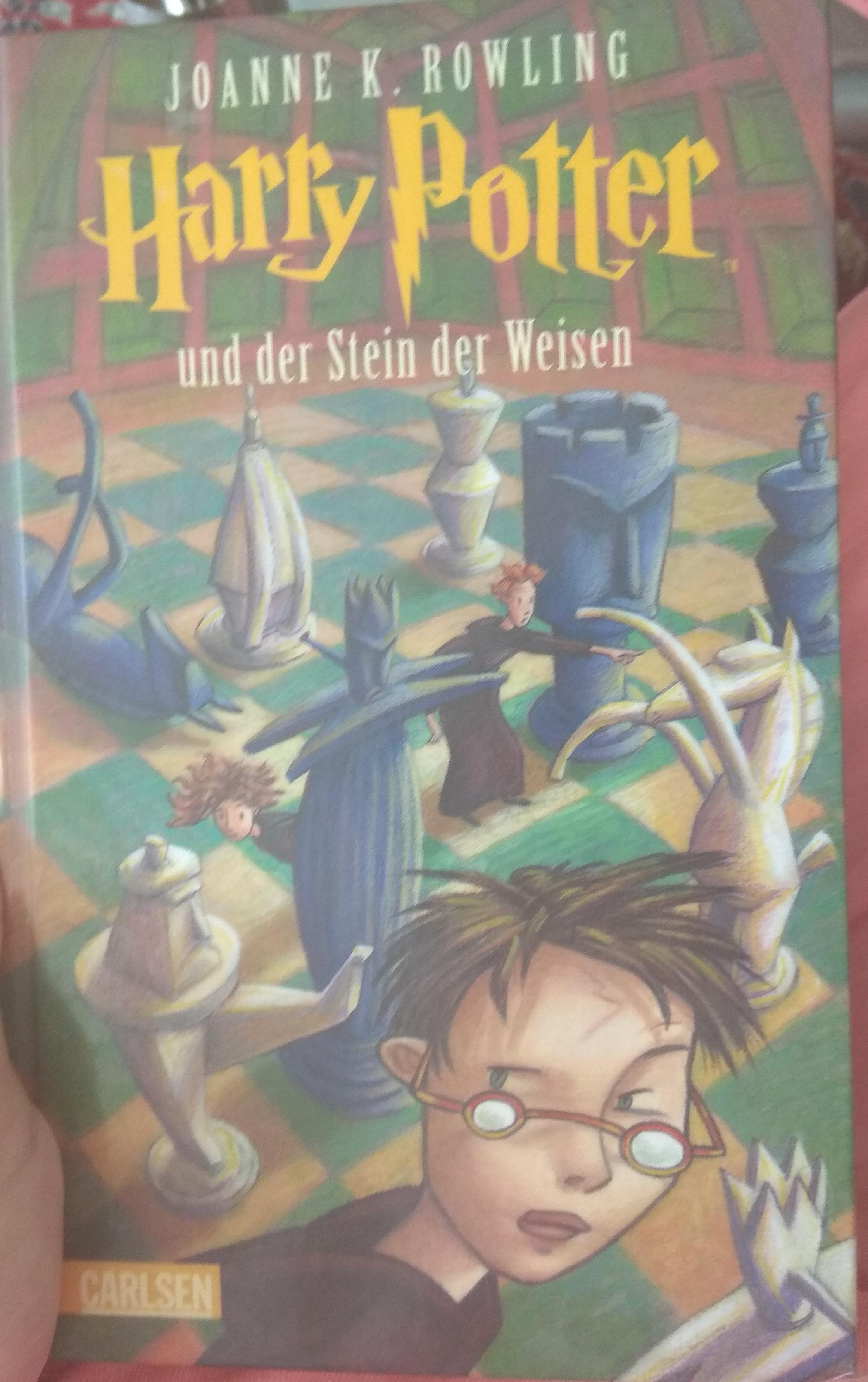 Harry Potter und der Stein der Weisen :Hab ich das ...