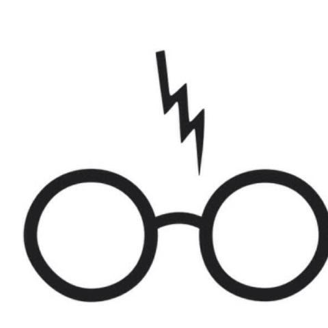 Harry Potter Zeichen Brille Mit Blitz Haben Tastatur