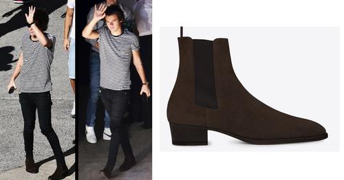 Hier sind die schuhe  - (Schuhe, One Direction, Harry Styles)