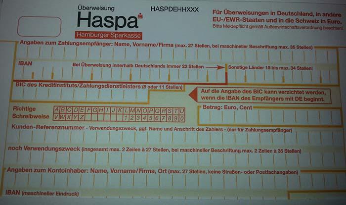 Haspa SofortГјberweisung