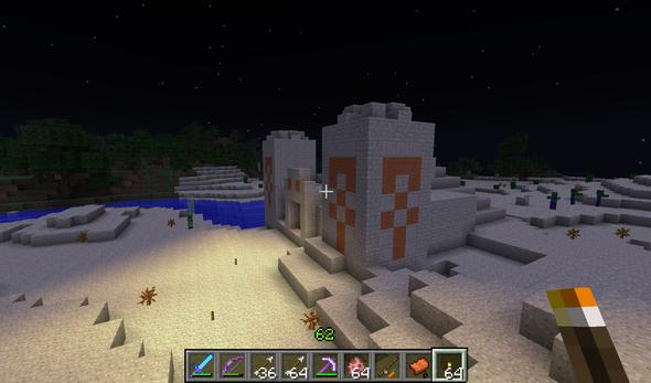 Die Pyramide/Tempel - (Minecraft, herobrine)