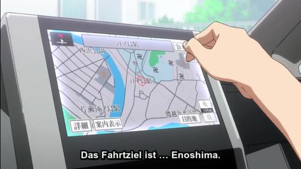 Wie man rechts am Navi sehen kann befindet sich ganz klar Hakenkreuze  - (Anime, Politik, Japan)