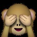 Affe mit den verdeckten Augen! - (WhatsApp, Bedeutung, Status)