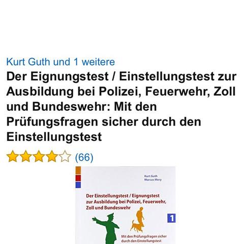 Vorbereitungen zum Computertest der bundeswehr  - (Buch, Bundeswehr, Einstellungstest)