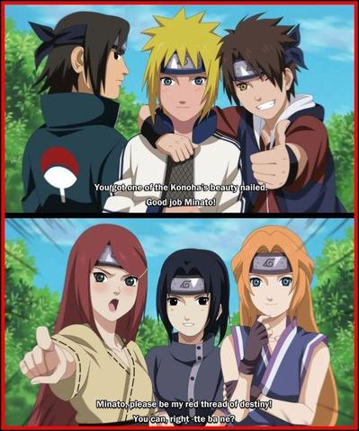 Narutos Eltern, Sasukes Eltern und ???? - (Anime, Naruto, Shippuuden)