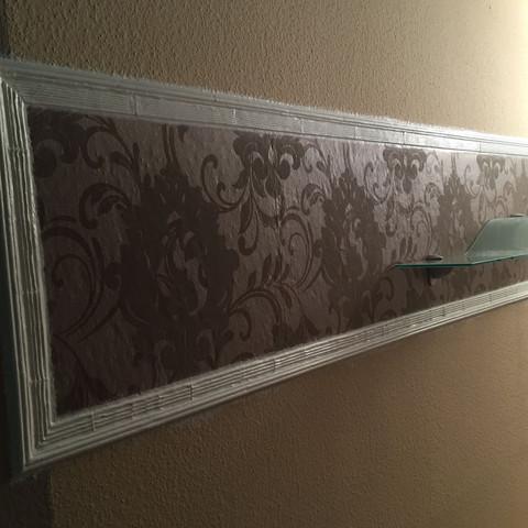 hat jemand eine idee jemand kreativ basteln tapete acryl. Black Bedroom Furniture Sets. Home Design Ideas