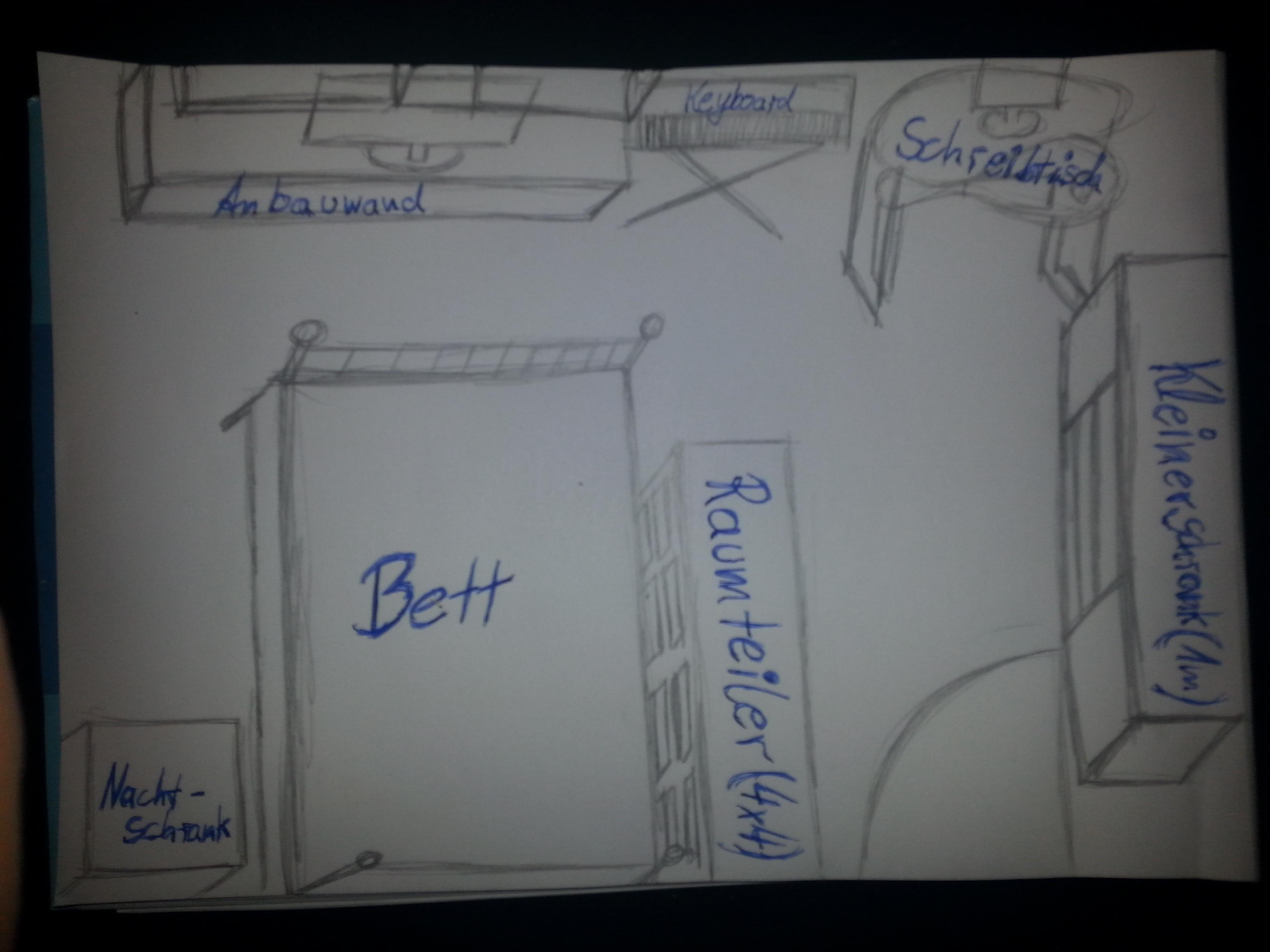 hat jemand eine idee wie ich mein zimmer umstellen kann. Black Bedroom Furniture Sets. Home Design Ideas