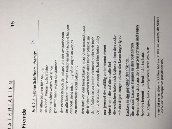 Beispiel interpretation gedicht
