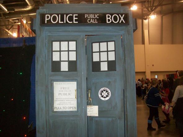 Hat jemand einen TARDIS-Bauplan?