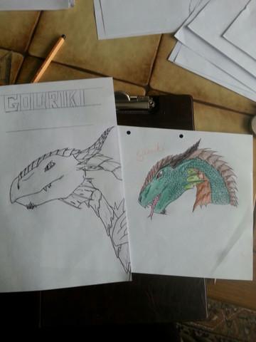 Gouriki - (Fantasy, Drachen)