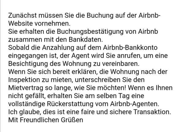 Hat jemand Erfahrung mit wohnung mieten über airbnb?