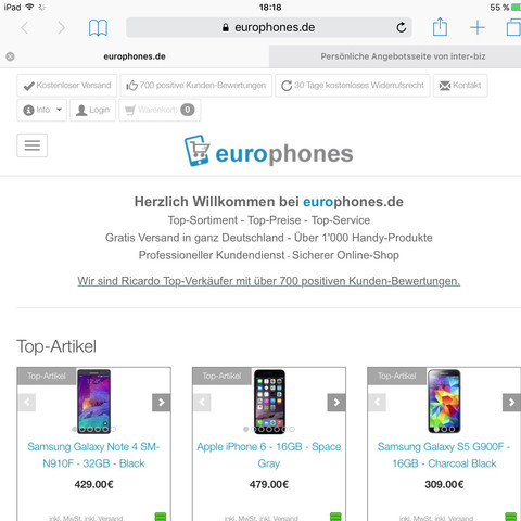 Europhones Iphone