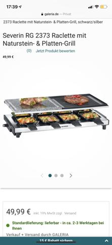 Hat jemand Erfahrungen mit diesem Raclette?