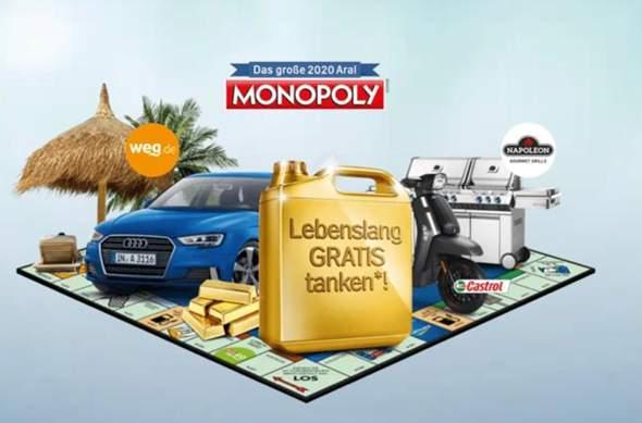 Hat jemand hier von euch oder kennt ihr jemand der bei dieser ARAL Monopoly Hauptgewinn gewonnen hat?