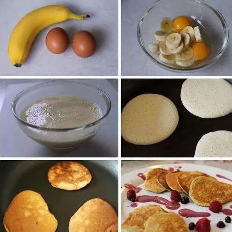 Eier und Banane  - (essen, Ernährung, Nahrung)