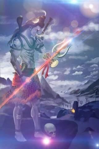 Hat Lord Shiva Gras geraucht?