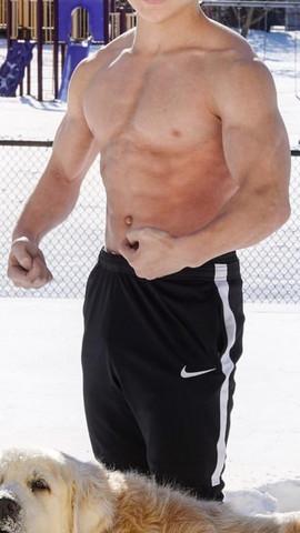 Muskel jungs