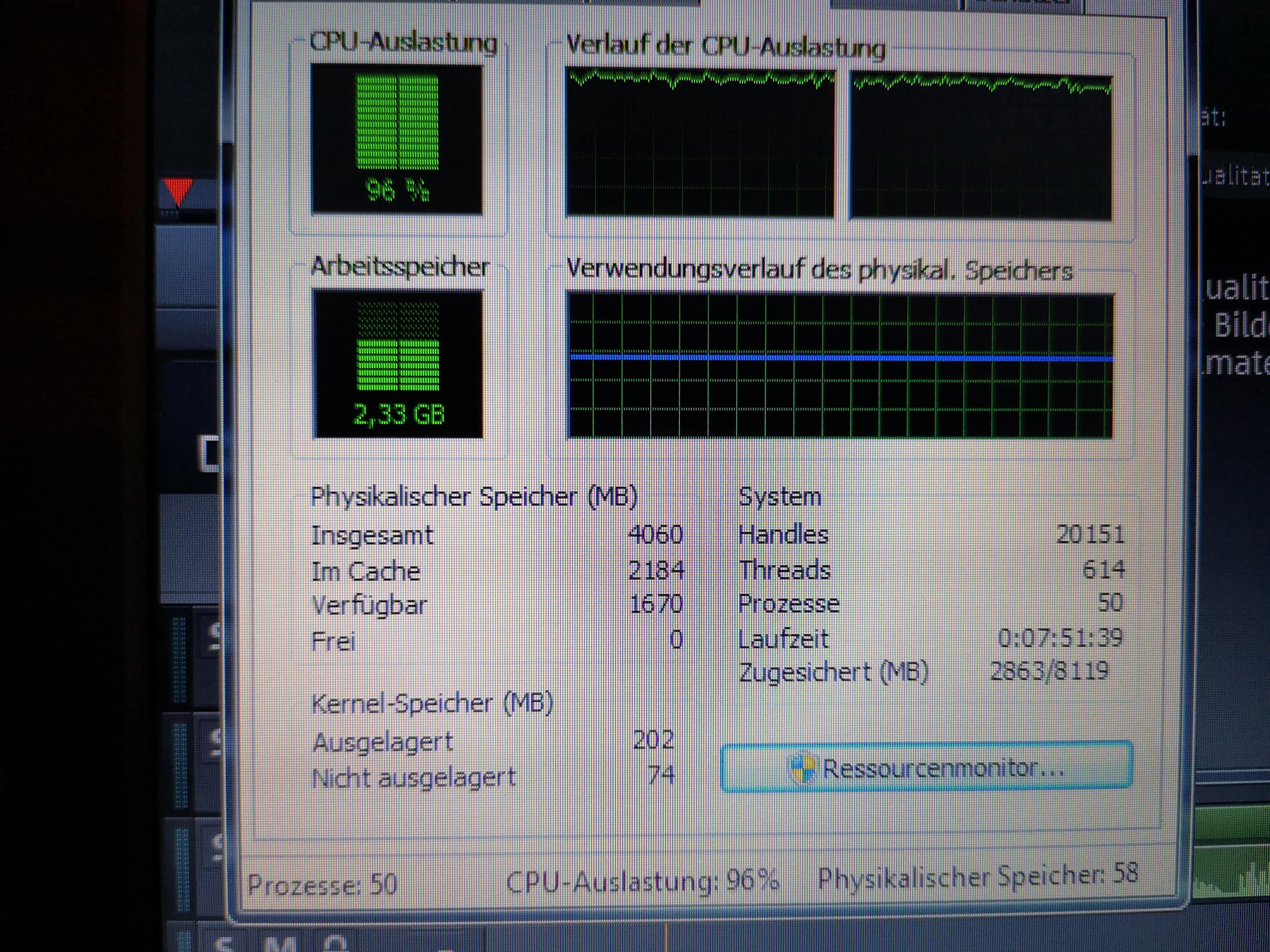 Hat mein Laptop zu wenig Arbeitsspeicher? (Computer, PC