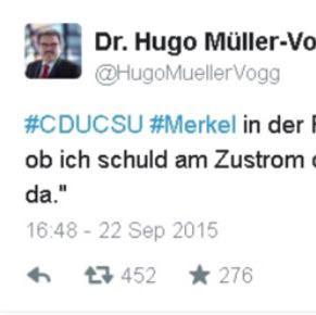 """Merkel in der Fraktionssitzung genervt: """"Ist mir egal, ob ich schuld am ... - (Deutschland, Flüchtlinge, CDU)"""