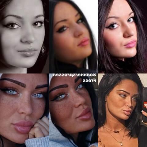 Girls Lassen Sich Die Gesichter Vollwichsen