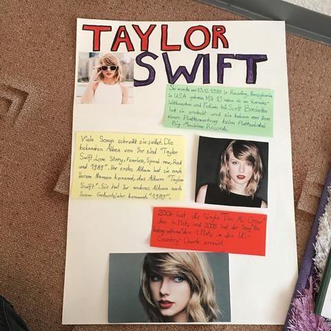 Plakat - (Vortrag, Taylor Swift)