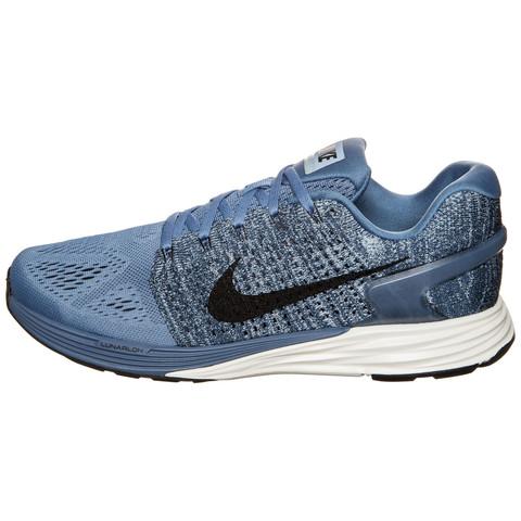 Nike Herren Lunarglide 7 Laufschuhe NIKE 217DE Wolf Grau