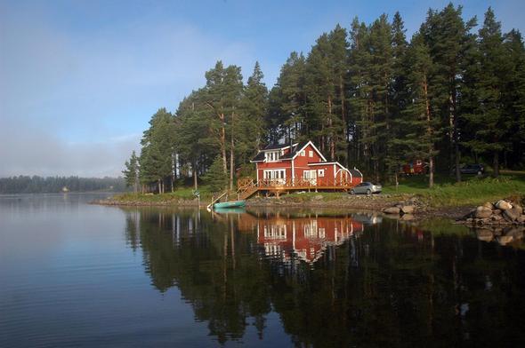 Haus am See mieten für 10 12 Personen siehe Bild Urlaub
