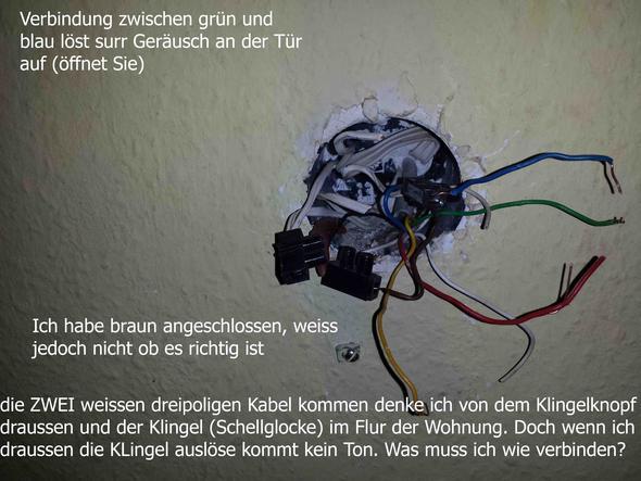 hausklingel funktioniert nicht foto der verkabelung elektronik kabel elektrotechnik. Black Bedroom Furniture Sets. Home Design Ideas