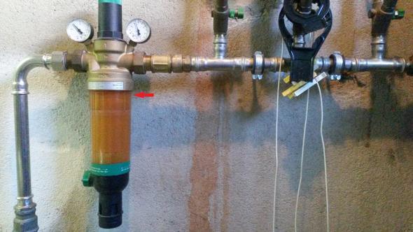 hauswasser station hs10s filterscheibe l sst sich nicht. Black Bedroom Furniture Sets. Home Design Ideas